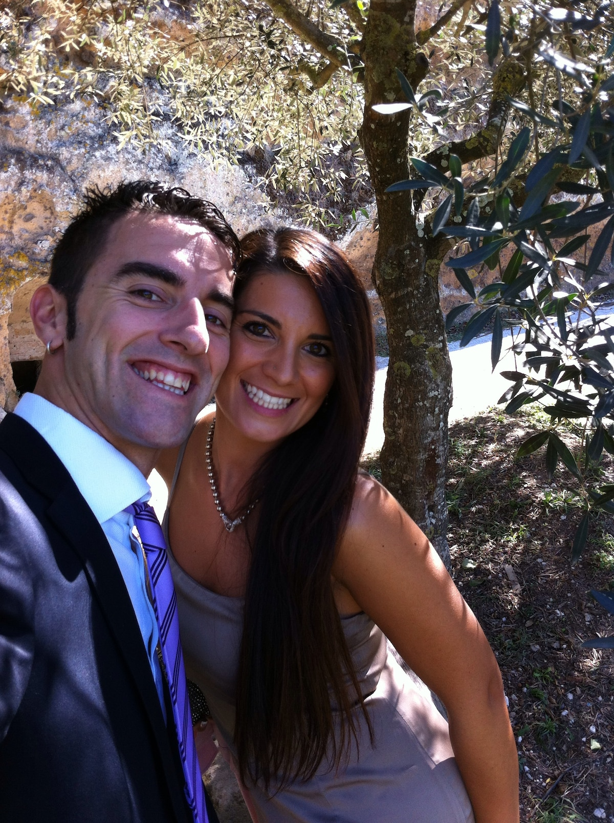 We, Stefano and Sabrina (32 and 28 years old) , ar