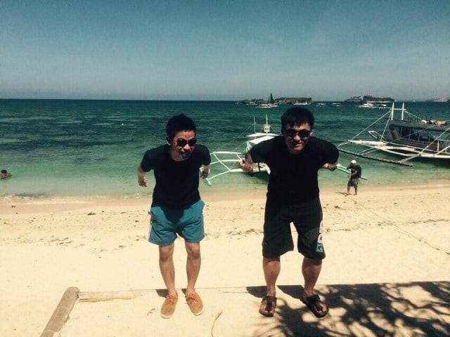 Alvin: I'm not tall but I'm funny Danny: I'm tall