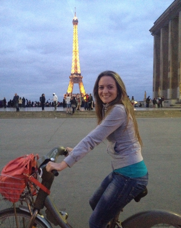 I am currently living in Paris after studying a Ma
