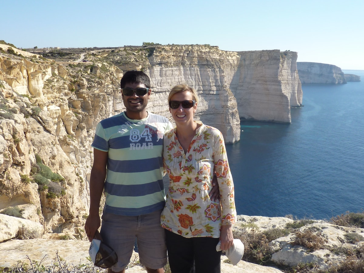 Agnes And Paresh From Cambridge, United Kingdom