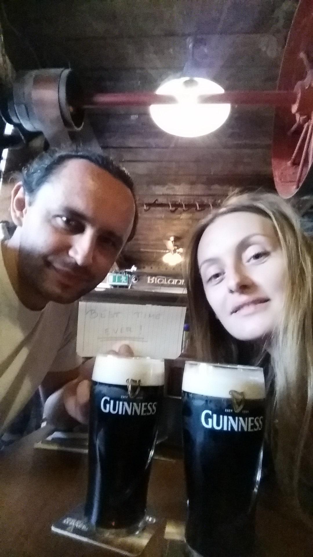 Marina & Dean From Kilpedder, Ireland
