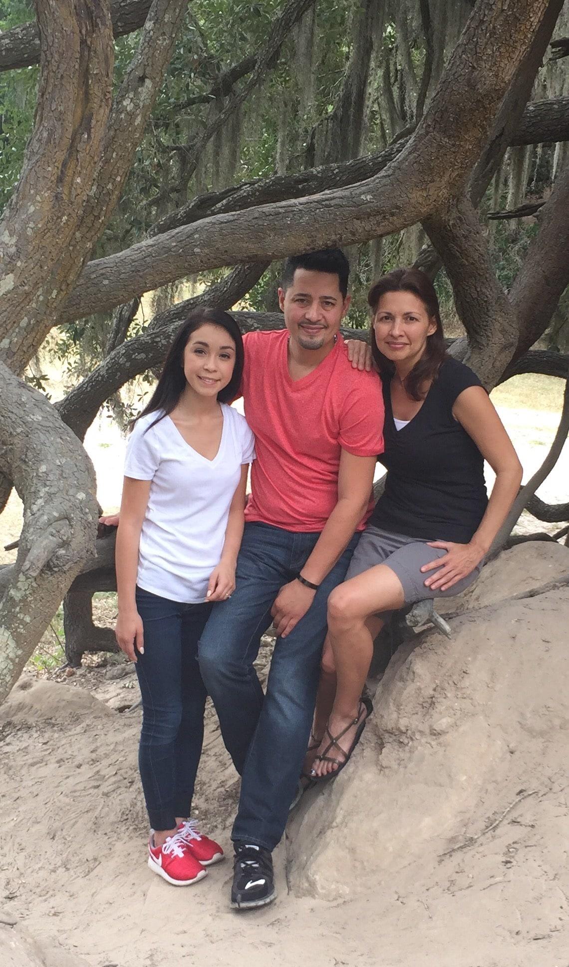 Adam, Cathy & Kat (Niece) Garcia from Utuado