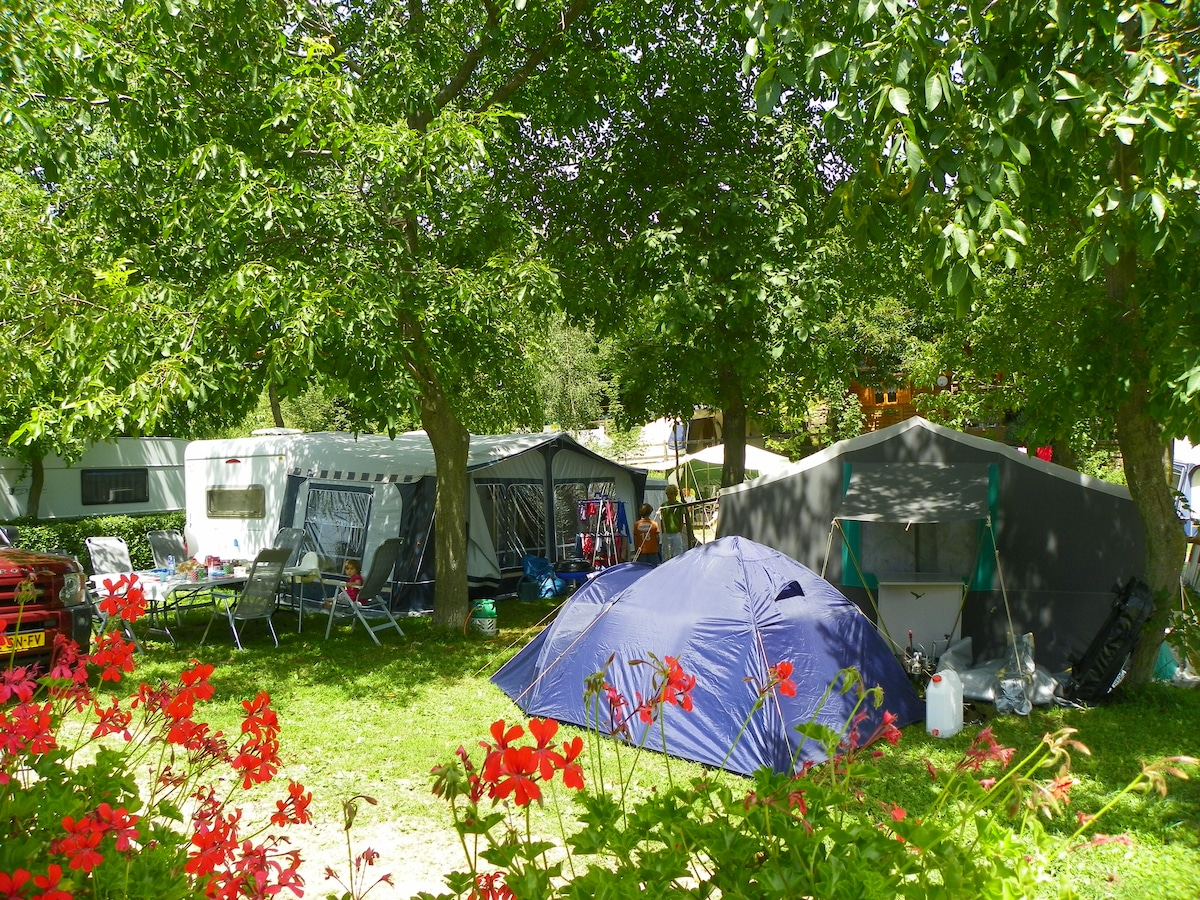 Camping from Turin