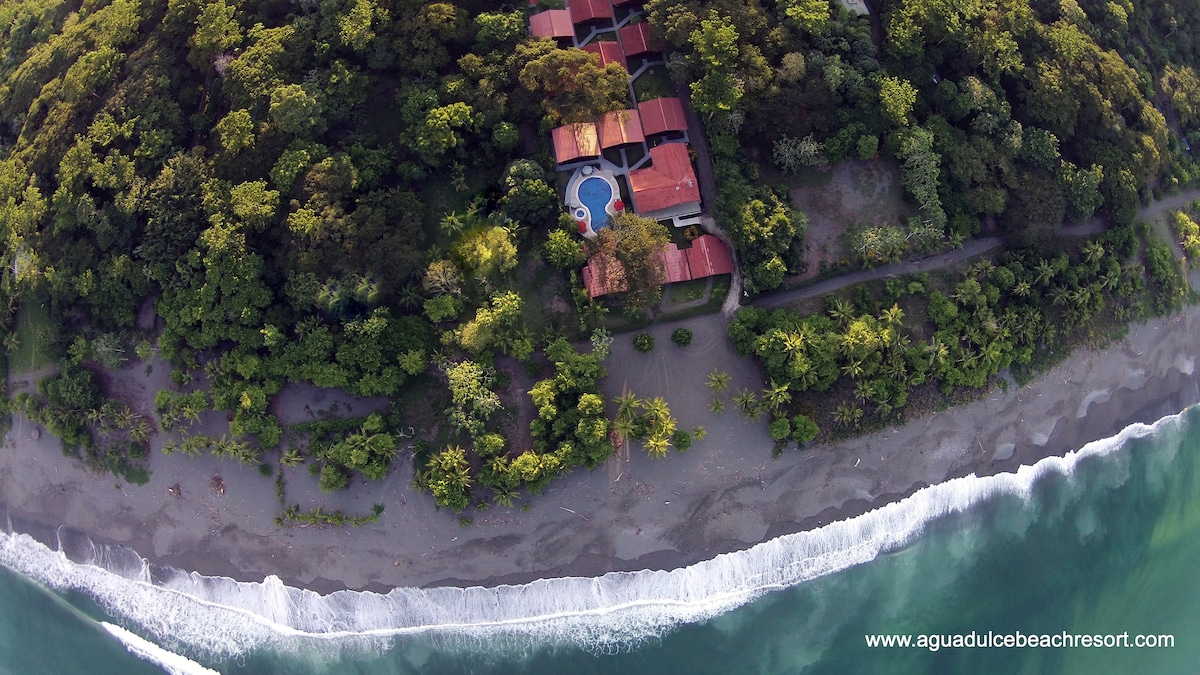 Agua Dulce Beach Resort From Puerto Jiménez, Costa Rica