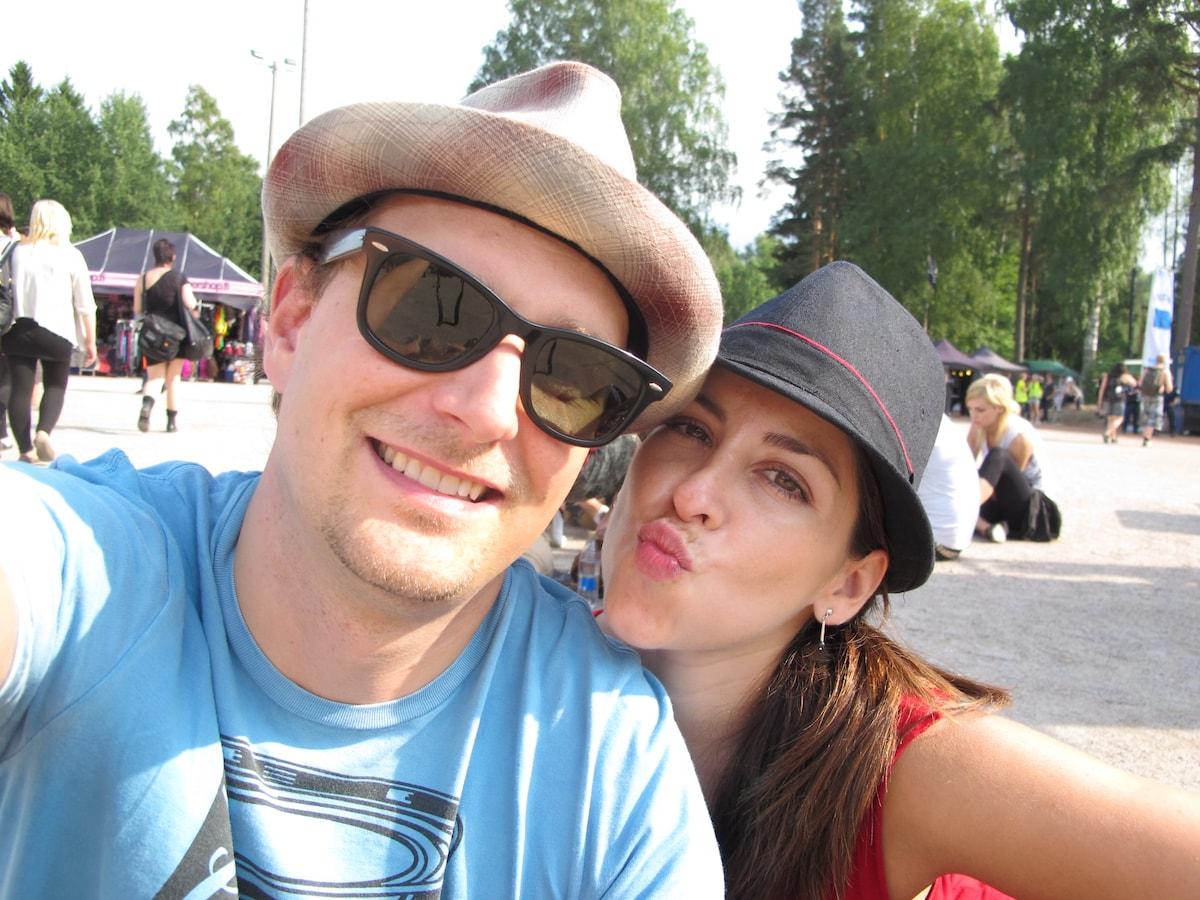 Carolina & Perttu from Helsinki