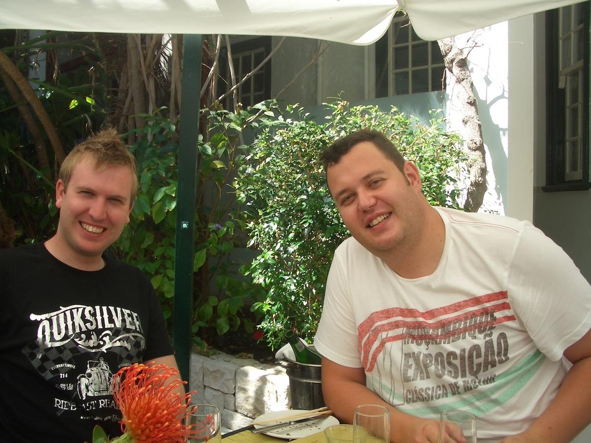 Dirk & Braam from Johannesburg