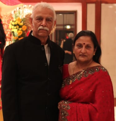 We're a couple who are living in Agra. Both of us