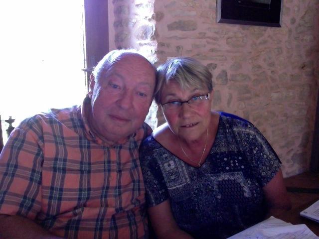 Muguette & Gérard from Brouchaud