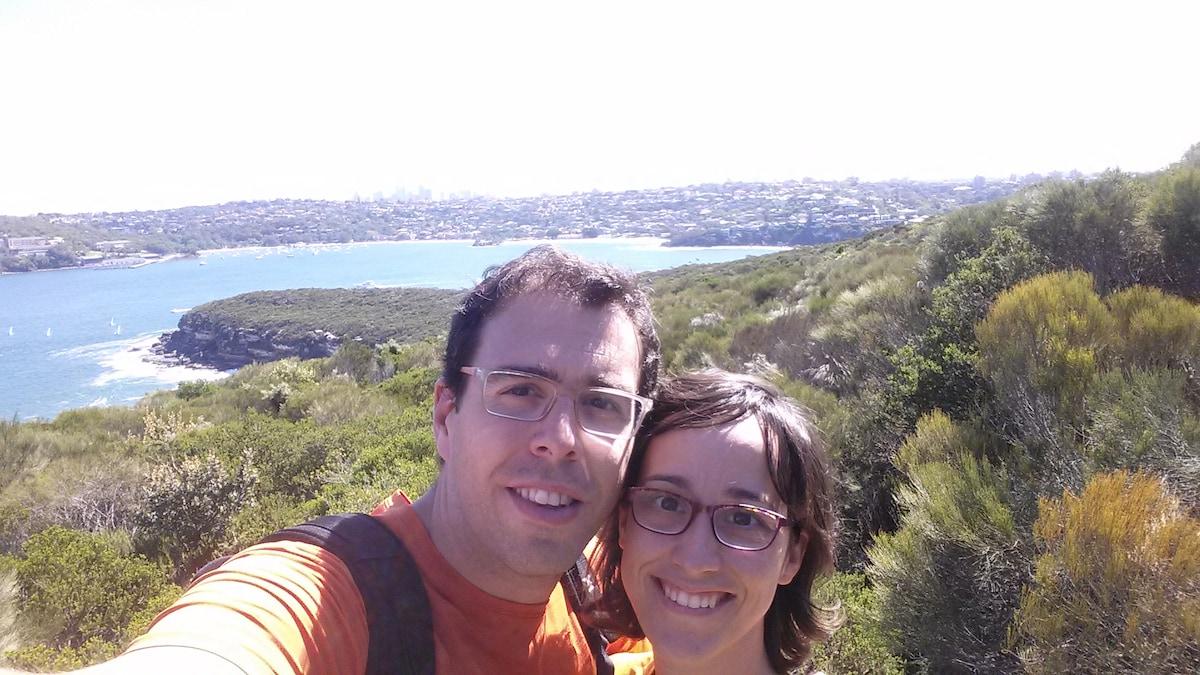 Robert & Raquel aus Sitges