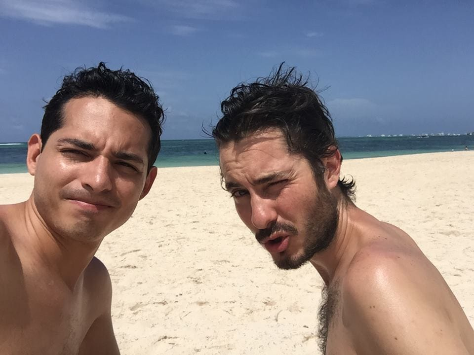 Hi! We are two guys from Mexicali and Barcelona li