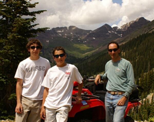 I love the mountains, fishing, skiing, hiking, bik