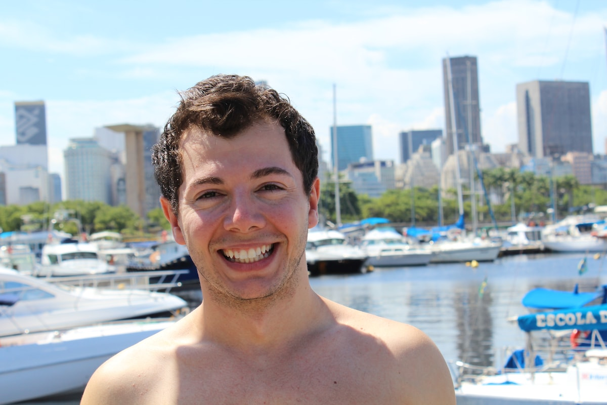 My name is Marcelo, I am a Brasilian who graduated