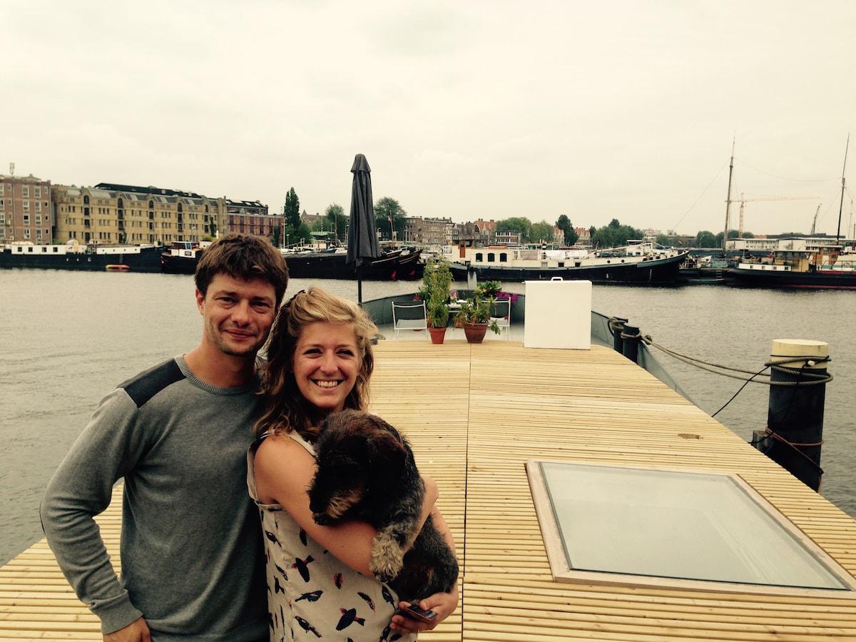 Erik & Margriet from Amsterdam