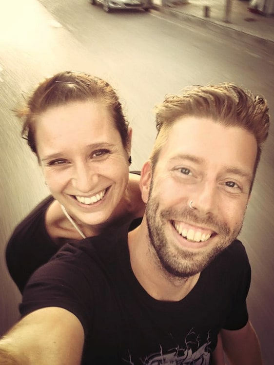 We are a Dutch couple  who have been living, worki