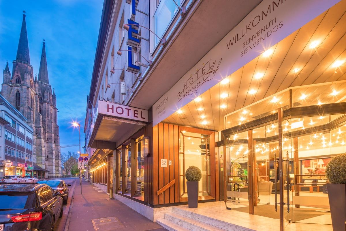 Hotel Marburger Hof From Kirchhain, Germany