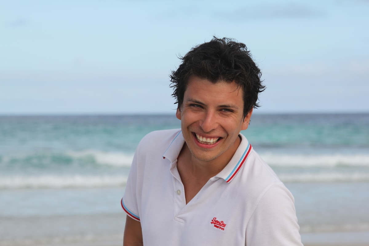 Nicolas From Quito, Ecuador