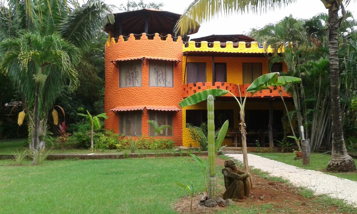 Castillo from Santa Cruz
