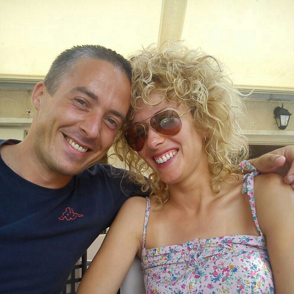 We are a young couple of teachers from Zadar. One