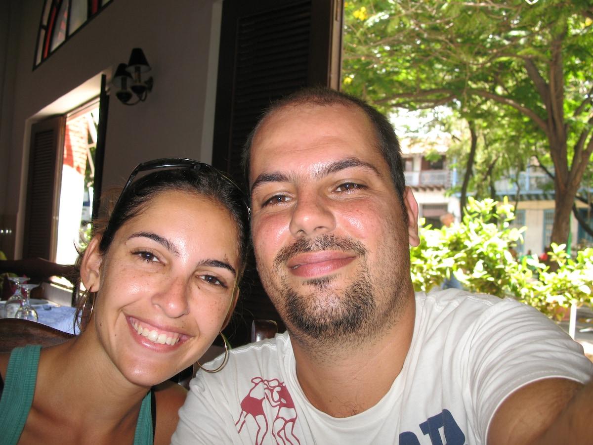 Thea & Gui From Rio de Janeiro, Brazil