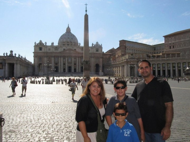 We are a family of four who love to travel and spe