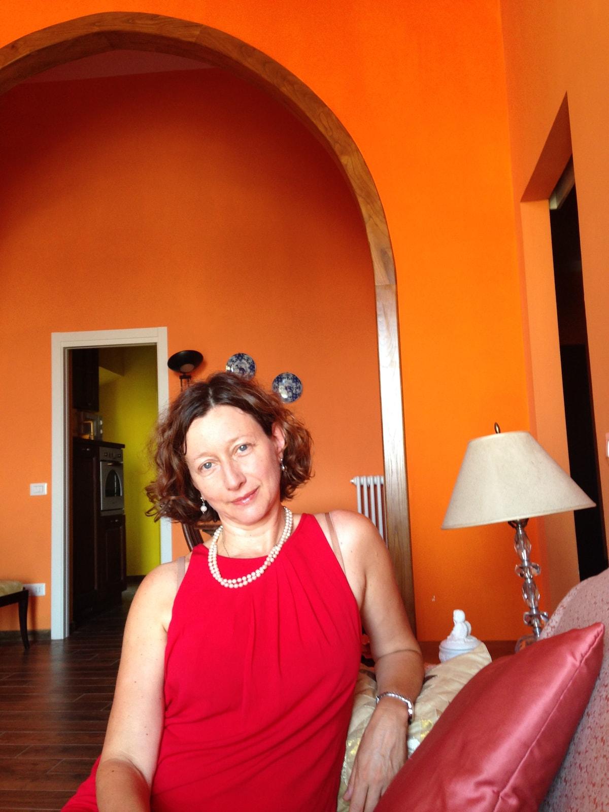 Isabella from Pitigliano