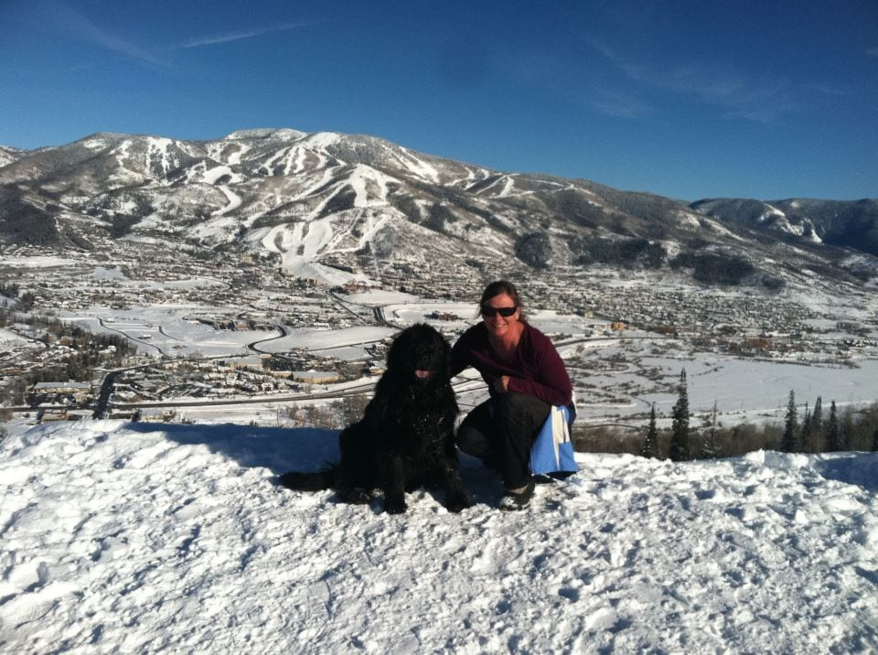 I live in Steamboat Springs with my son Brad and o