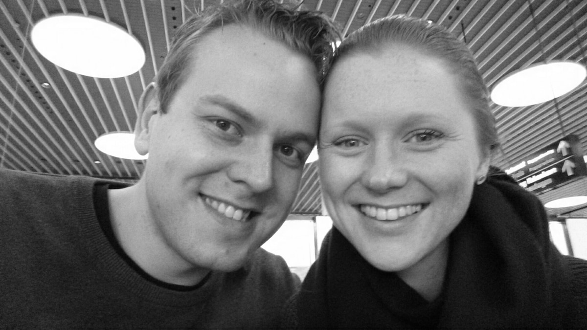 We are a young couple, Danny (28) and Ingrid (26),