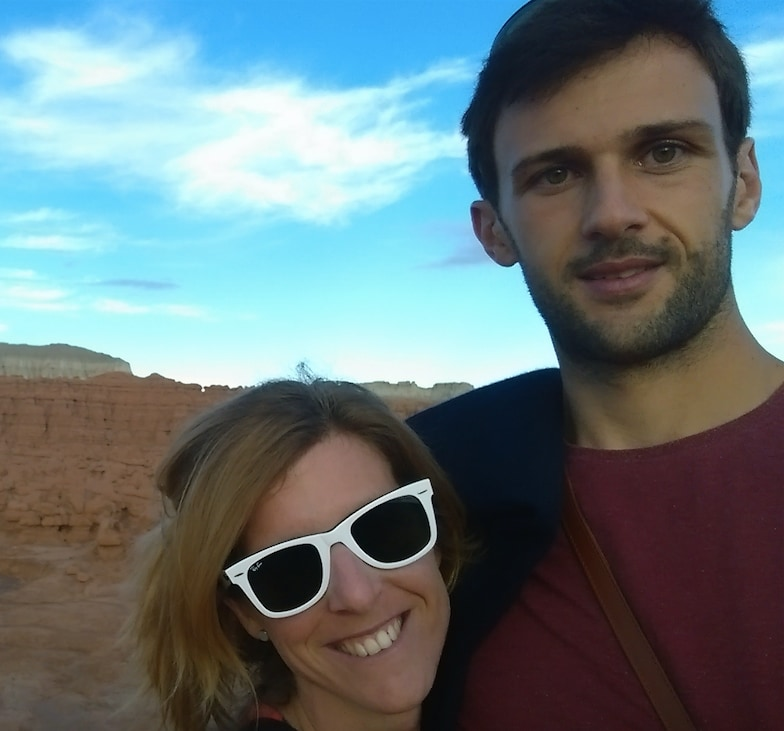 French couple, moved to Austin from Paris in Decem