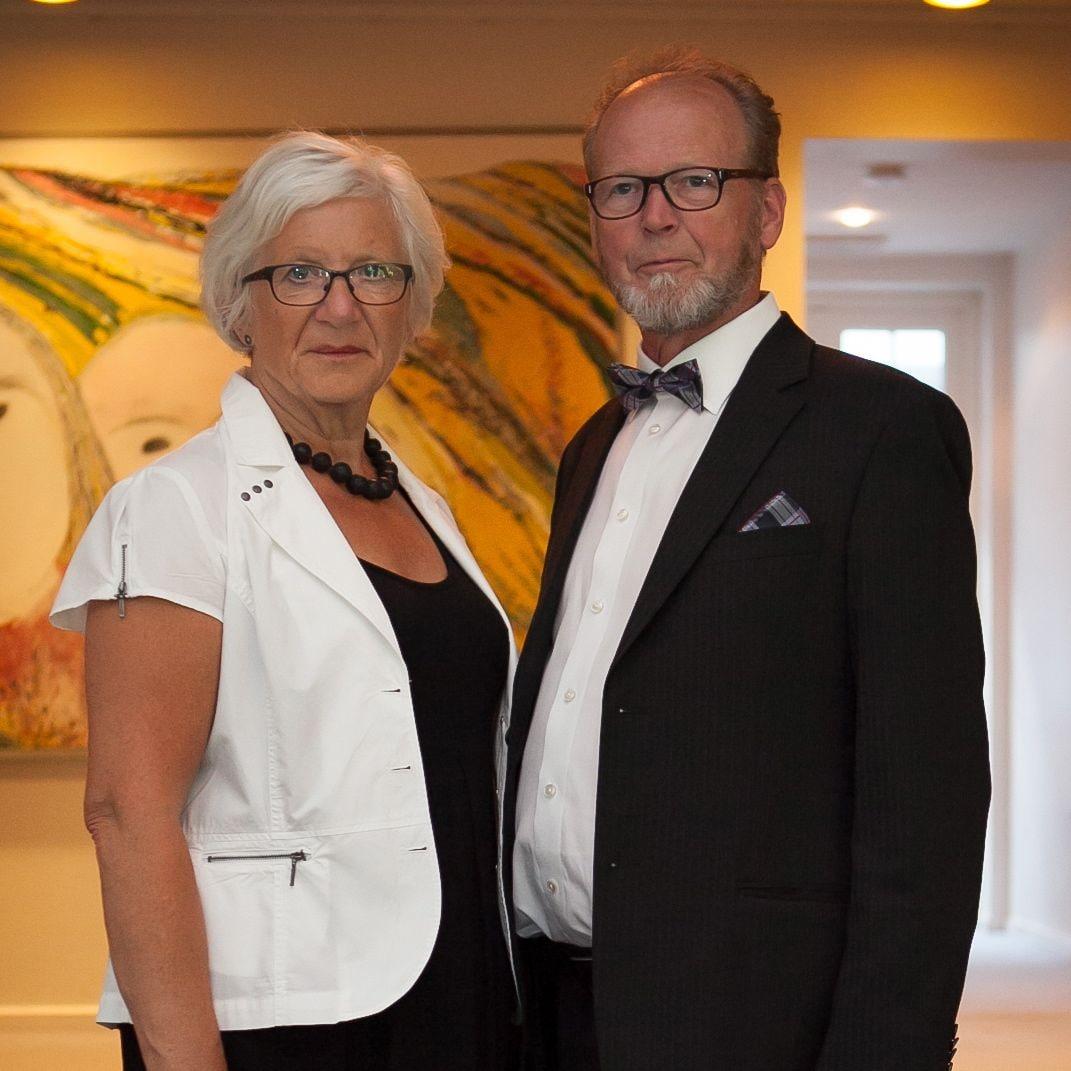 Thorkil og jeg er begge pensionister og nyder at g