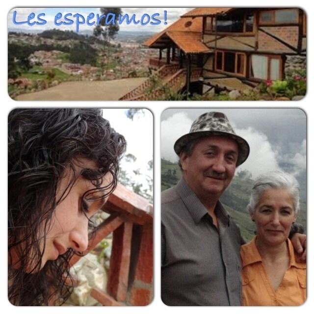 Santiago & Zilpa House (Lorena) from Cuenca