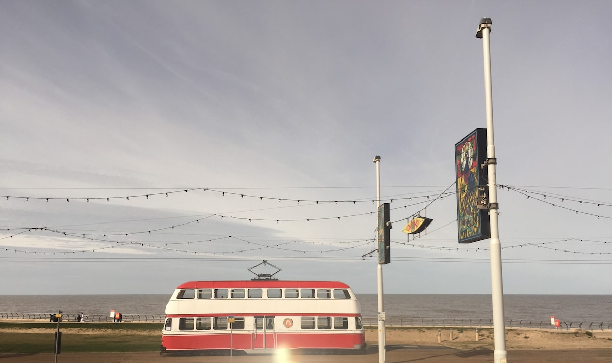 Seafront From Blackpool, United Kingdom
