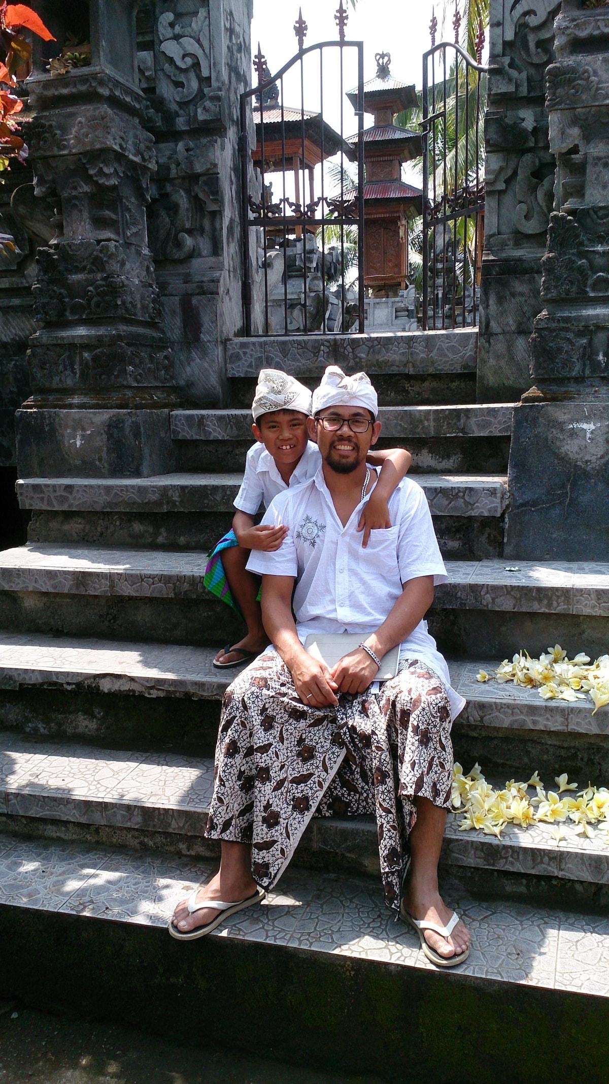 Wayan From Manggis, Indonesia