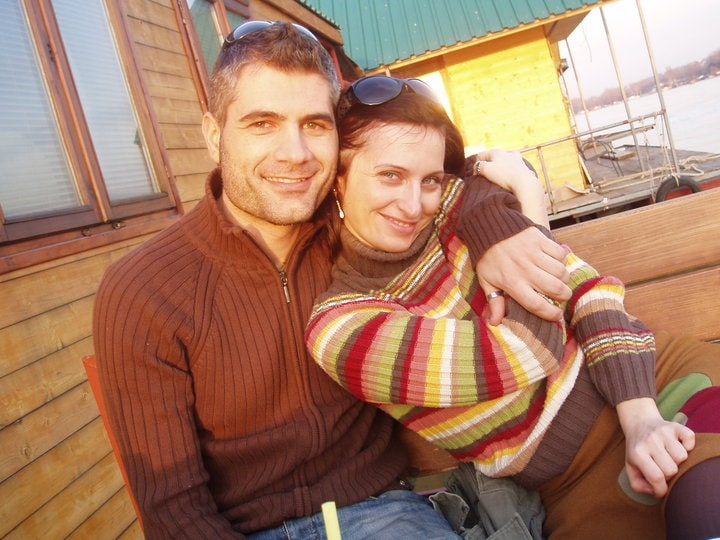 I am from Serbia and my husband is from Italy, we'