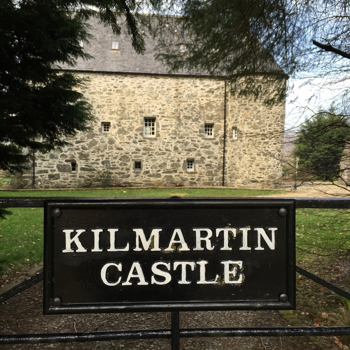 We fell in love with Kilmartin Castle whilst touri