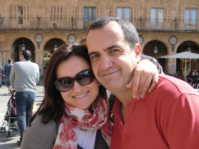 Pablo & Belén from Salamanca