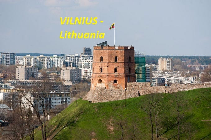 Ramūnas From Vilnius, Lithuania