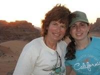 We are academics living in Israel. Debby works in