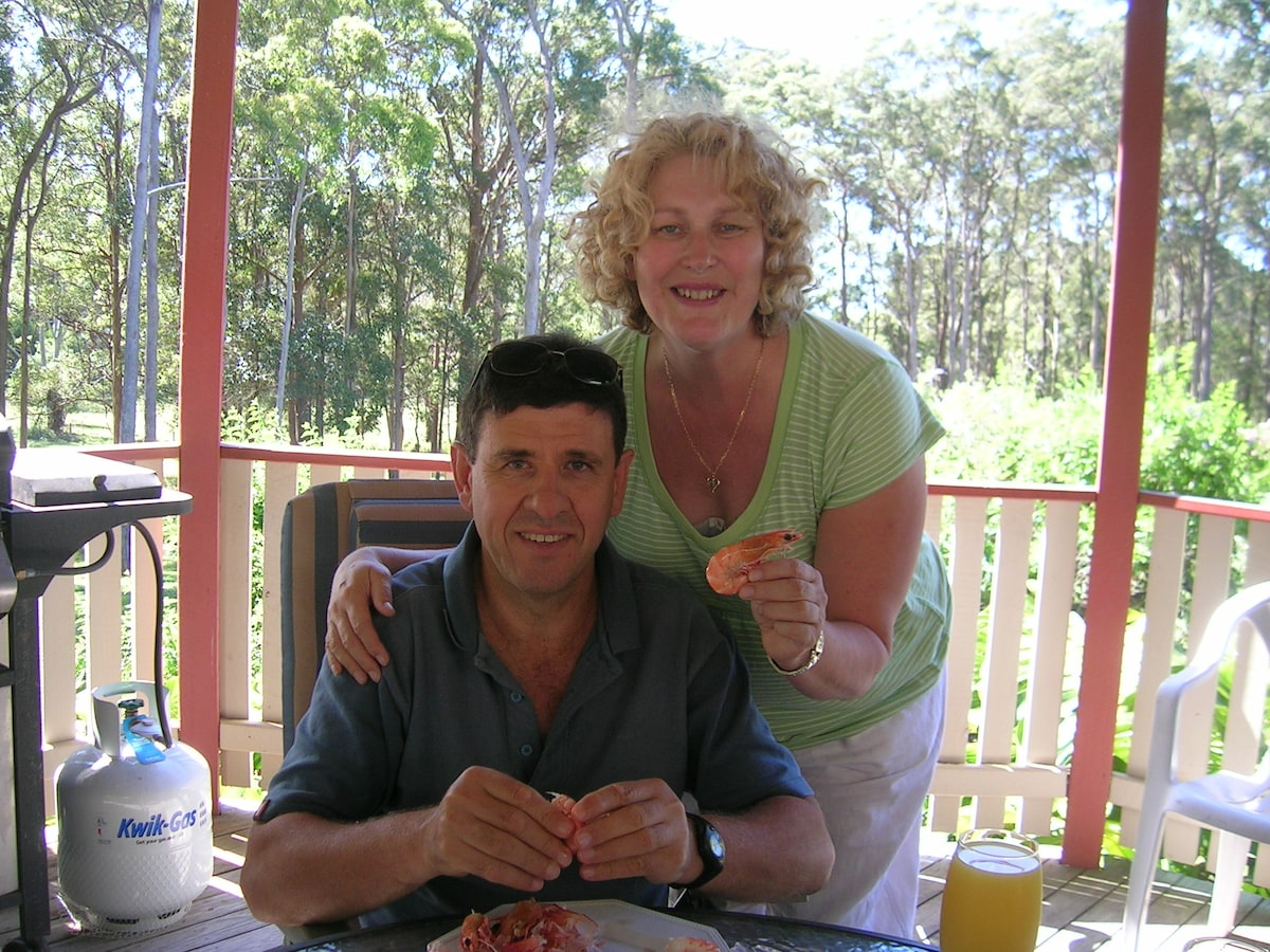 Bronnie & Neil from Melbourne