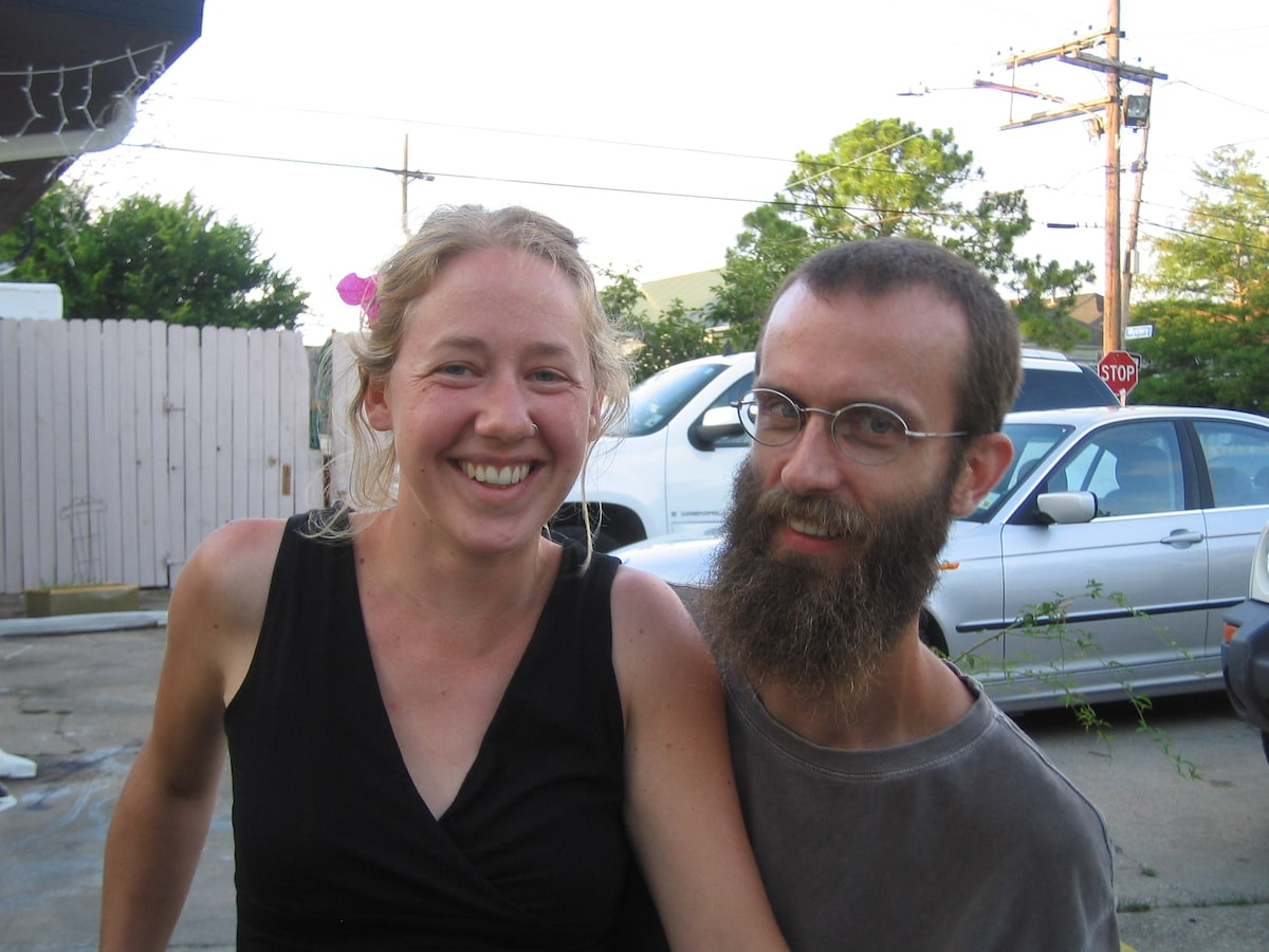 We are a couple of post-Katrina transplants. We fe