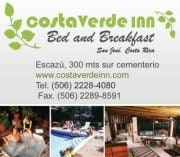 Costa Verde Inn from Escazu