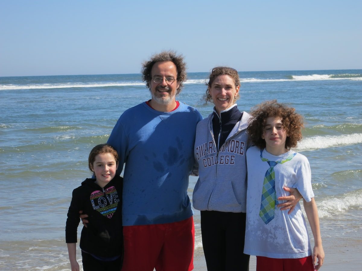 I am the mom in a fun-loving family of four. On a