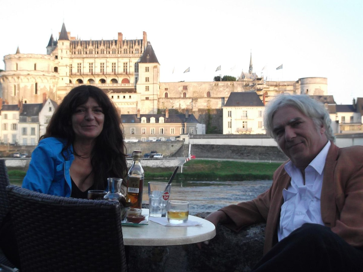 Micheline And Lucas From Amboise, France