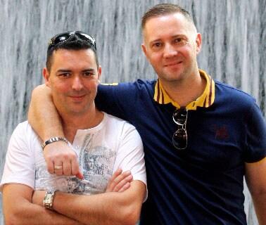Marco & Neil From Caernarfon, United Kingdom