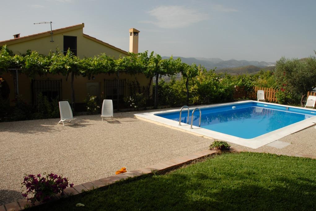 Casa Rural con piscina en Monachil, a unos 7 km  d