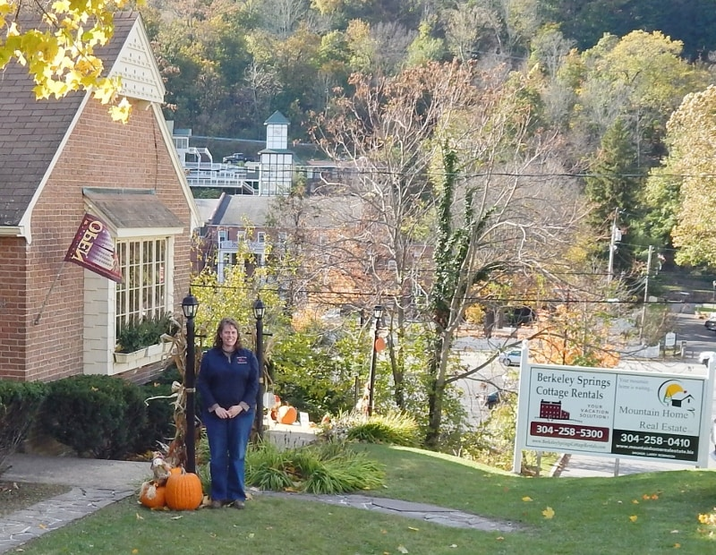 Berkeley Springs Cottage Rentals from Berkeley Springs