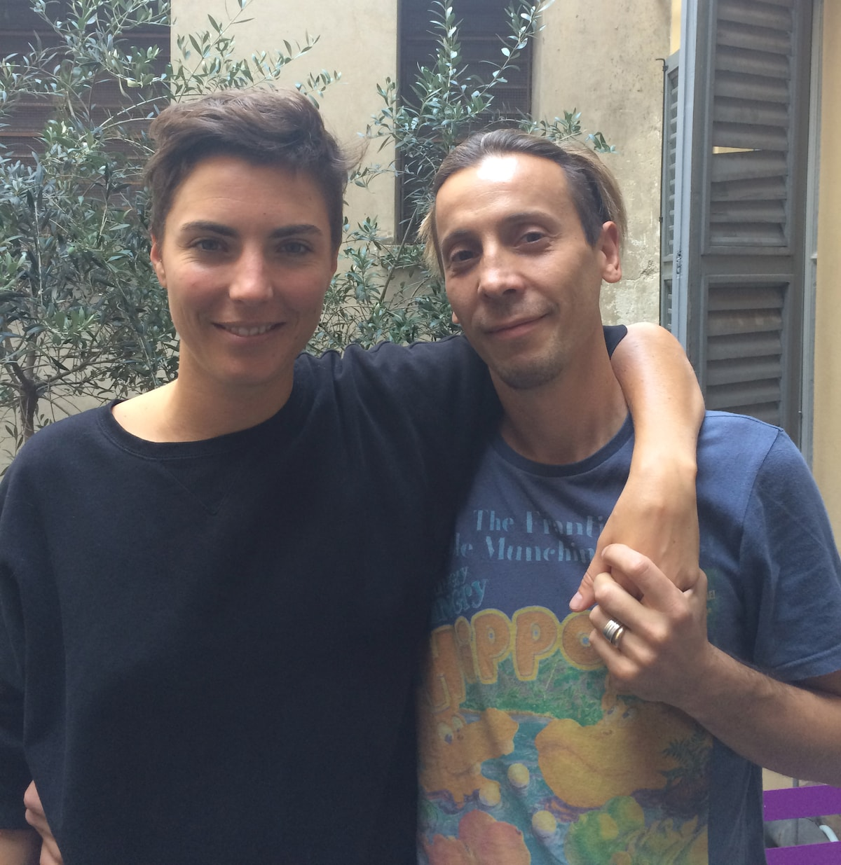 Chiara & Pasquale from Milan