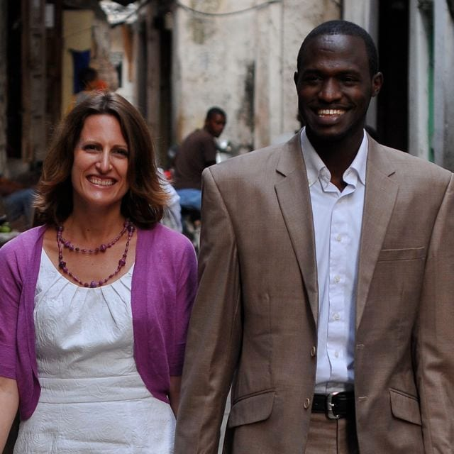 We are a German/Rwandan couple and live in Kigali,