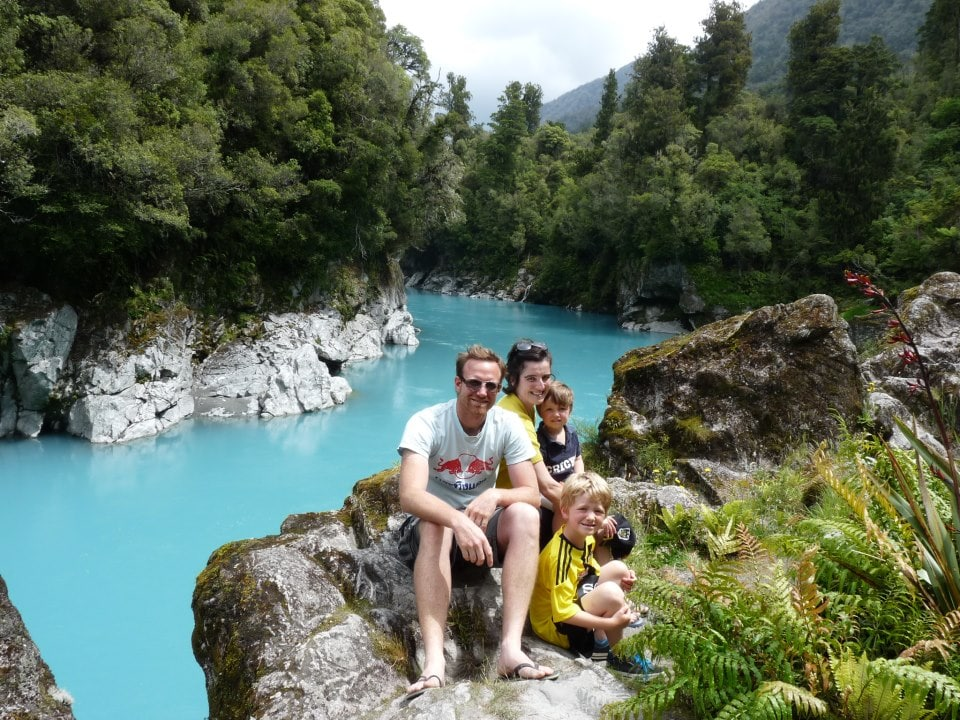 Six years ago we moved from Belgium to New Zealand