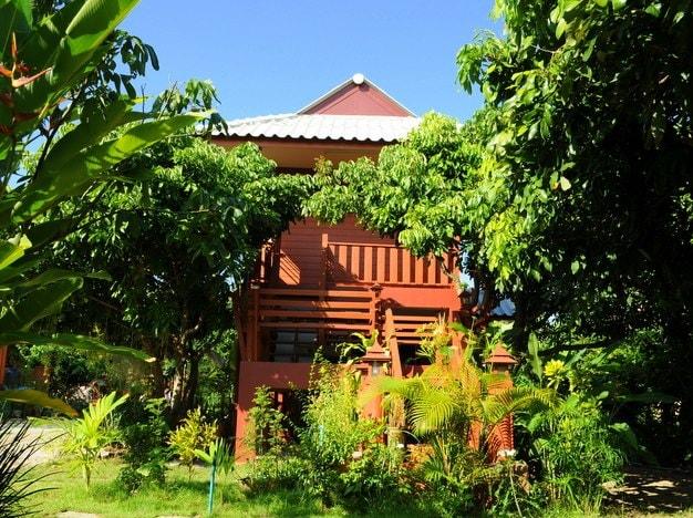 Ban Suan Thanormpat Resort from Pa Bong