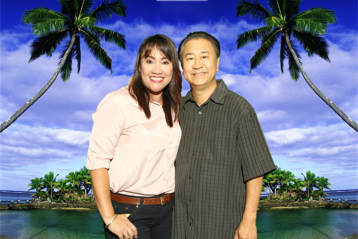 Sonia & James from Honolulu